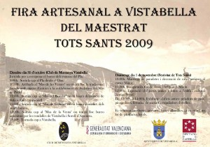 Fira artesanal tots sants 2009