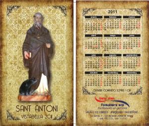 Calendari Sant Antoni 2011